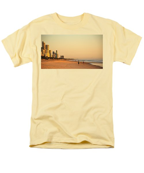 Men's T-Shirt  (Regular Fit) featuring the photograph Gold Coast Beach by Eric Tressler