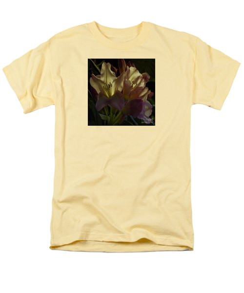 Golden Reserve Men's T-Shirt  (Regular Fit) by Jean OKeeffe Macro Abundance Art