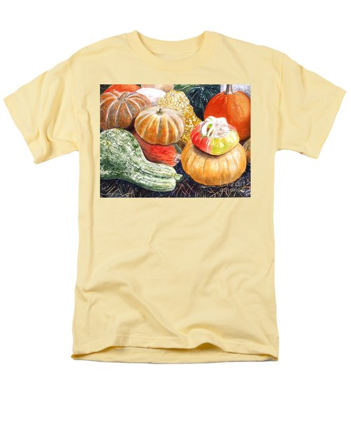 Men's T-Shirt  (Regular Fit) featuring the painting Gourds by Carol Flagg