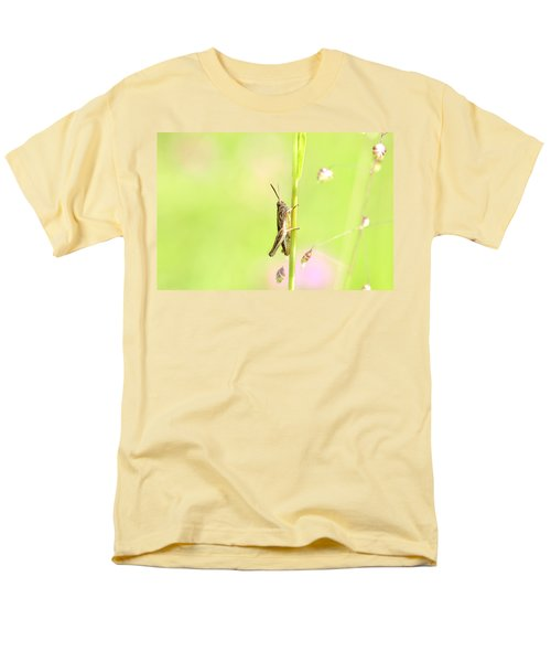 Grasshopper  Men's T-Shirt  (Regular Fit) by Tommytechno Sweden