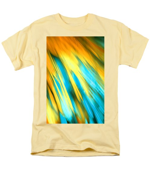 Men's T-Shirt  (Regular Fit) featuring the photograph Happy Together Right Side by Dazzle Zazz
