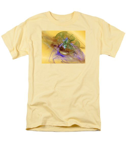 Men's T-Shirt  (Regular Fit) featuring the digital art Holiday In Cambodia by Jeff Iverson