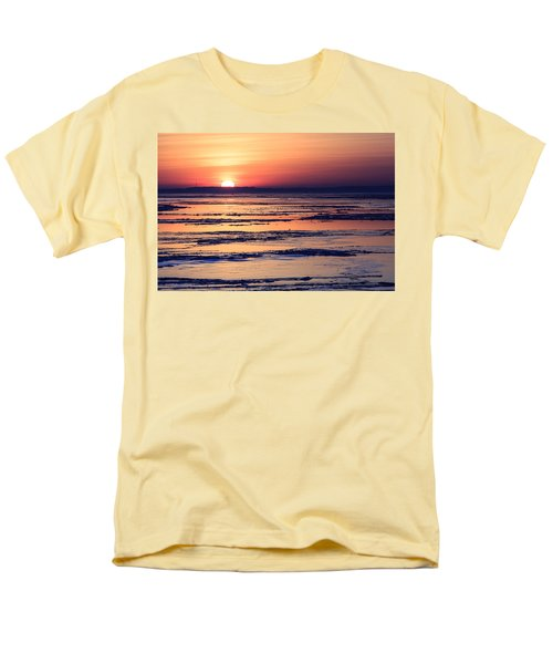Icy Sunrise Men's T-Shirt  (Regular Fit) by Jennifer Casey