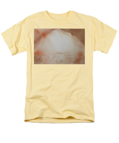 Men's T-Shirt  (Regular Fit) featuring the painting In The Beginning by Richard Faulkner