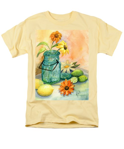 In The Lime Light Men's T-Shirt  (Regular Fit) by Marilyn Smith