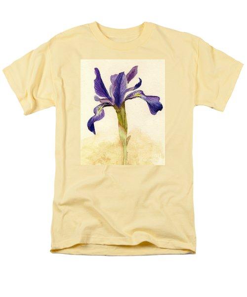 Iris Men's T-Shirt  (Regular Fit) by Barbie Corbett-Newmin
