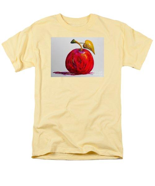 Kaleidoscope Apple -- Or -- Apple For The Teacher  Men's T-Shirt  (Regular Fit) by Eloise Schneider