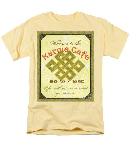 Karma Cafe Men's T-Shirt  (Regular Fit)