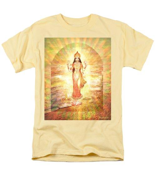 Lakshmis Birth From The Milk Ocean Men's T-Shirt  (Regular Fit) by Ananda Vdovic