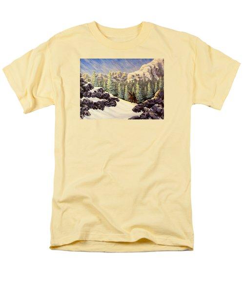 Late Crossing Men's T-Shirt  (Regular Fit) by Jack Malloch