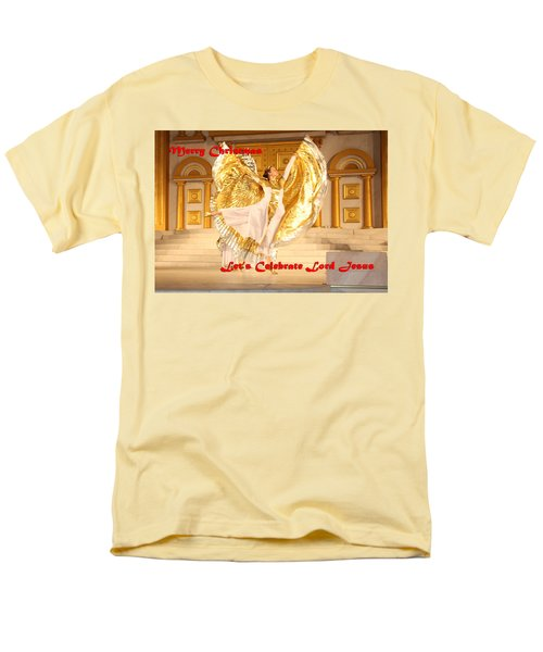 Let's Celebrate Lord Jesus4 Men's T-Shirt  (Regular Fit) by Terry Wallace