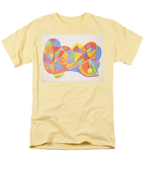 Men's T-Shirt  (Regular Fit) featuring the painting Graffiti Life  by Stormm Bradshaw