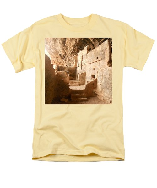 Men's T-Shirt  (Regular Fit) featuring the photograph Living In The Rocks by Kerri Mortenson