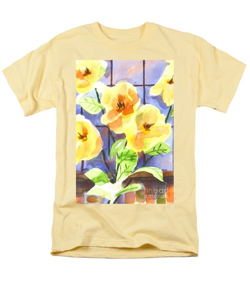 Magnolias Men's T-Shirt  (Regular Fit) by Kip DeVore