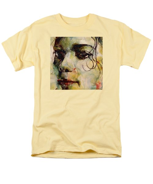 Man In The Mirror Men's T-Shirt  (Regular Fit) by Paul Lovering
