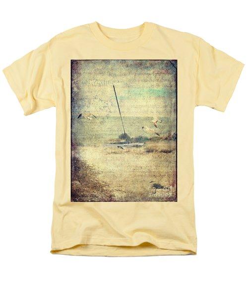Marooned Men's T-Shirt  (Regular Fit) by Erika Weber