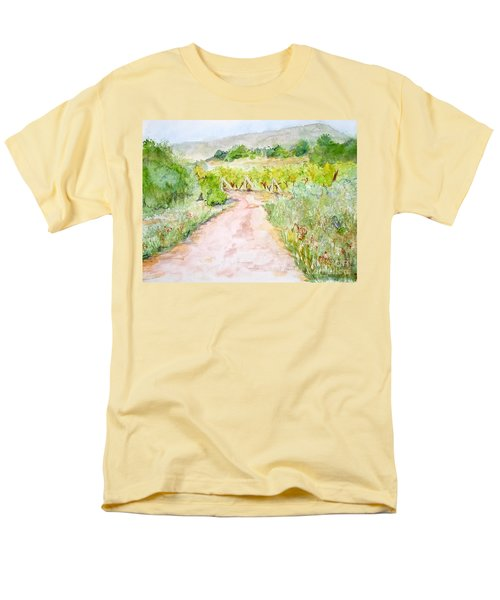 Medjugorje Path To Apparition Hill Men's T-Shirt  (Regular Fit) by Vicki  Housel