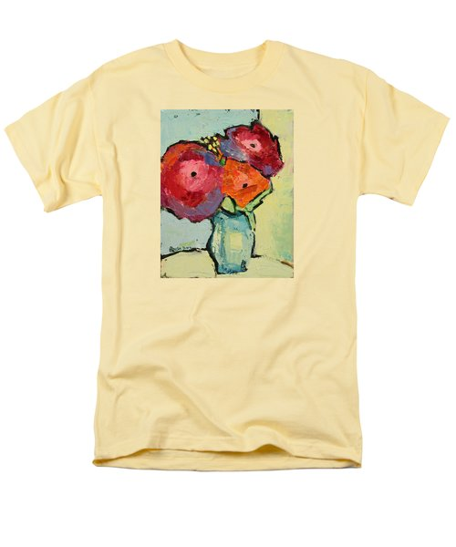 Men's T-Shirt  (Regular Fit) featuring the painting Melody Of Love by Becky Kim