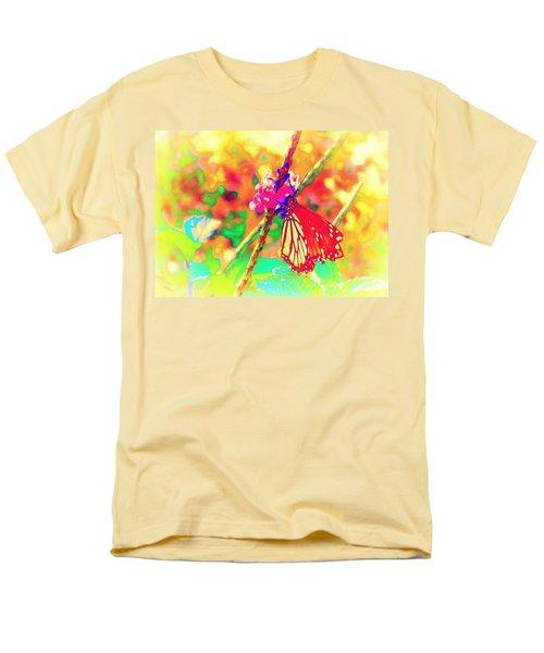 Monarch Butterfly  Men's T-Shirt  (Regular Fit) by David Mckinney