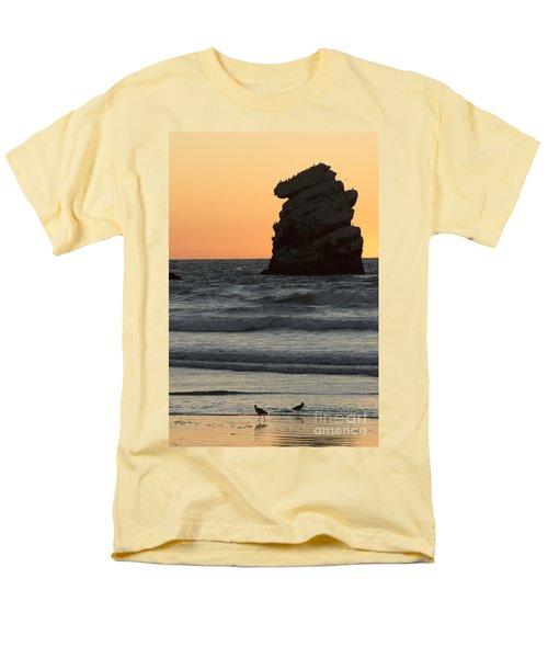 Morro Beach Sunset Men's T-Shirt  (Regular Fit)