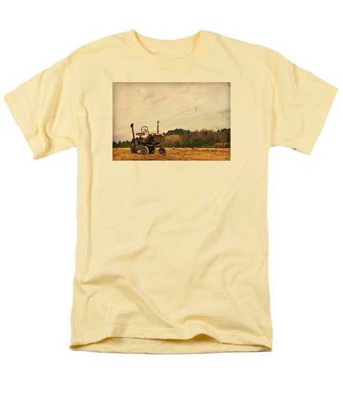 Men's T-Shirt  (Regular Fit) featuring the photograph Old Red by Joan Davis