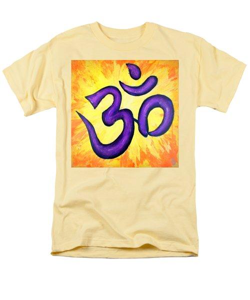 Om Symbol Art Painting Men's T-Shirt  (Regular Fit)