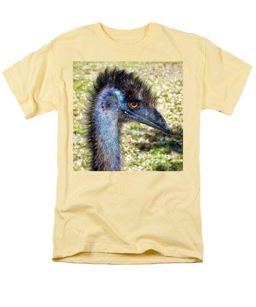 Men's T-Shirt  (Regular Fit) featuring the photograph Ostrich 1 by Dawn Eshelman