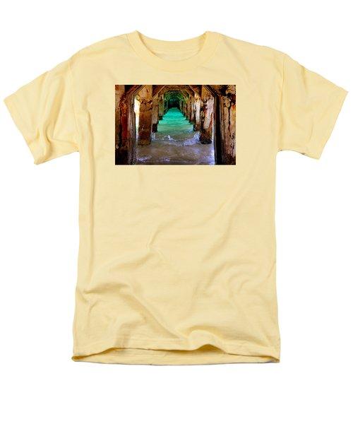 Pillars Of Time Men's T-Shirt  (Regular Fit)