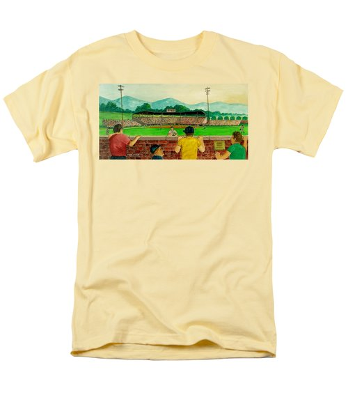 Portsmouth Athletics Vs Muncie Reds 1948 Men's T-Shirt  (Regular Fit) by Frank Hunter