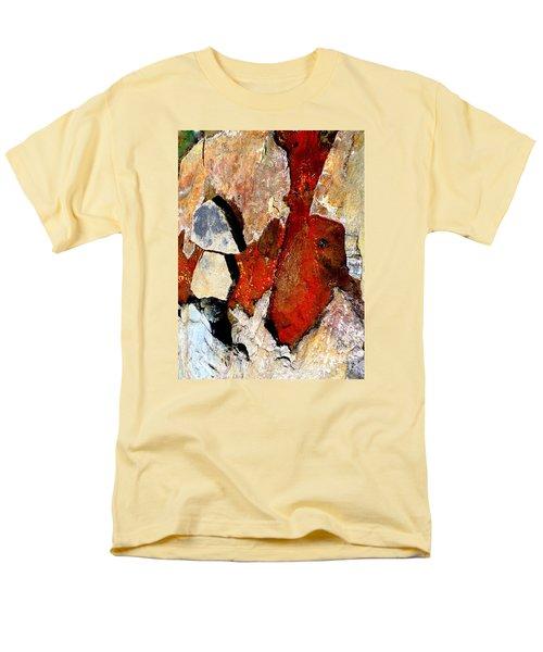 Red Veins Men's T-Shirt  (Regular Fit) by Marcia Lee Jones