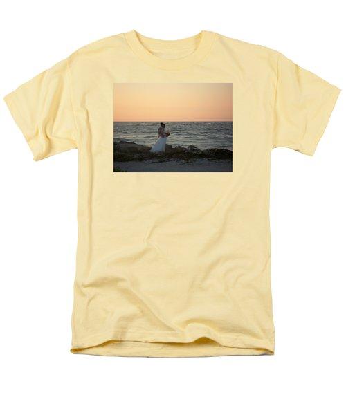 Romance In Captiva Men's T-Shirt  (Regular Fit) by Val Oconnor