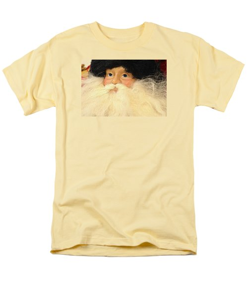 Men's T-Shirt  (Regular Fit) featuring the photograph Russian Santa by Nadalyn Larsen