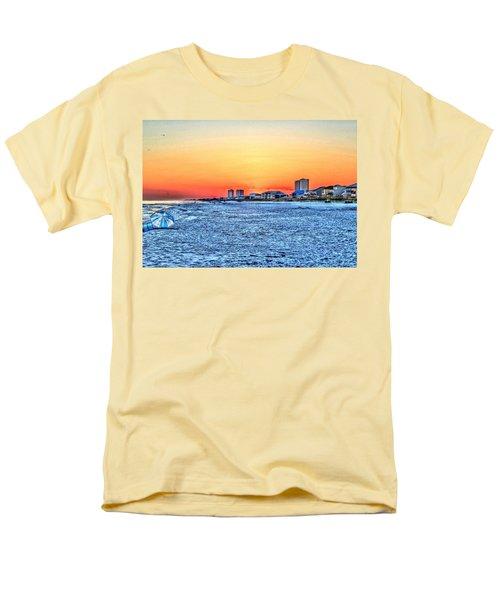 Sandy Sunset Men's T-Shirt  (Regular Fit)