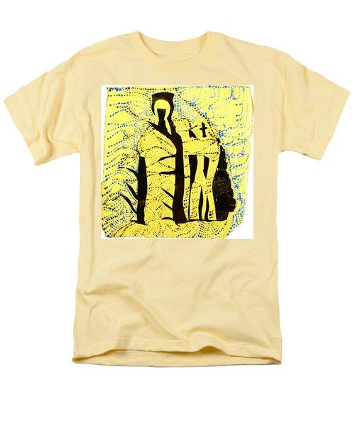 Shroud Of Jesus Men's T-Shirt  (Regular Fit) by Gloria Ssali
