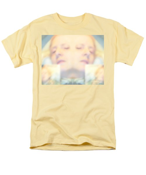Sleeping Woman Drifting In Dreams Men's T-Shirt  (Regular Fit)
