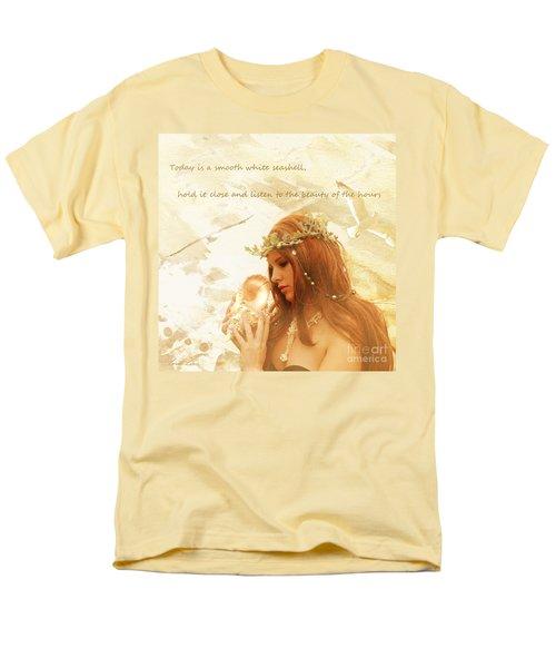 Sounds Of The Sea Men's T-Shirt  (Regular Fit) by Linda Lees
