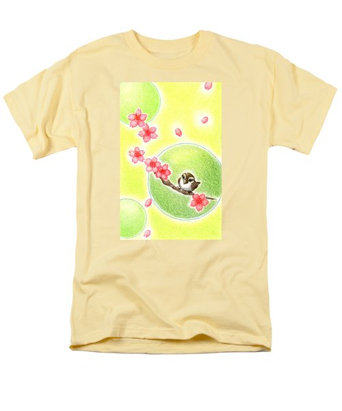 Spring Men's T-Shirt  (Regular Fit) by Keiko Katsuta
