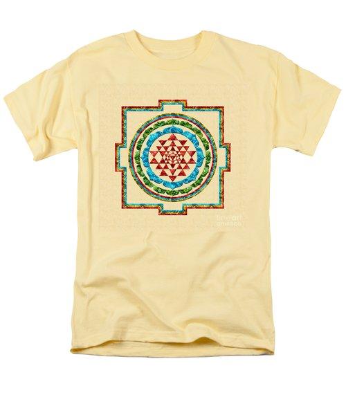 Sri Yantra Men's T-Shirt  (Regular Fit) by Olga Hamilton