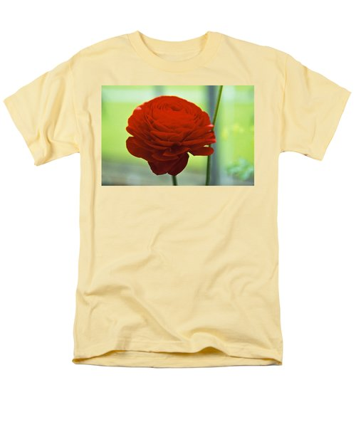 Men's T-Shirt  (Regular Fit) featuring the photograph Striking Red by Lana Enderle