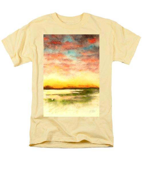 Sunset Men's T-Shirt  (Regular Fit) by Yoshiko Mishina