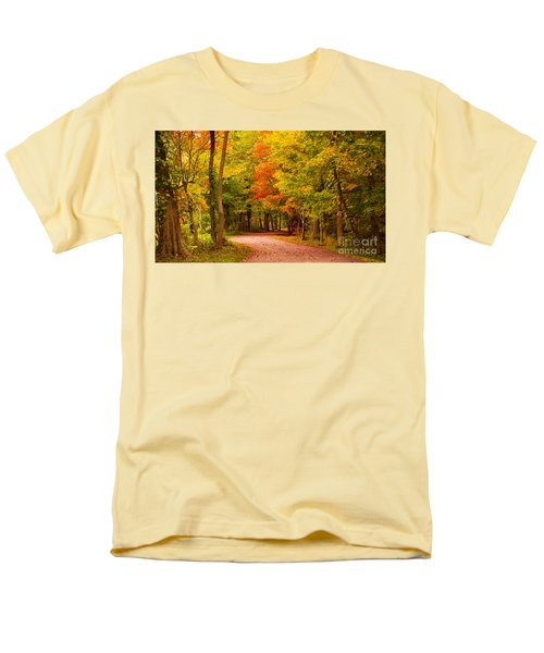 Men's T-Shirt  (Regular Fit) featuring the photograph Take Me To The Forest by Rima Biswas