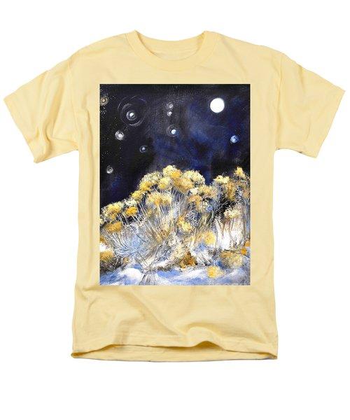 Taos Night Orbs Men's T-Shirt  (Regular Fit) by Glory Wood