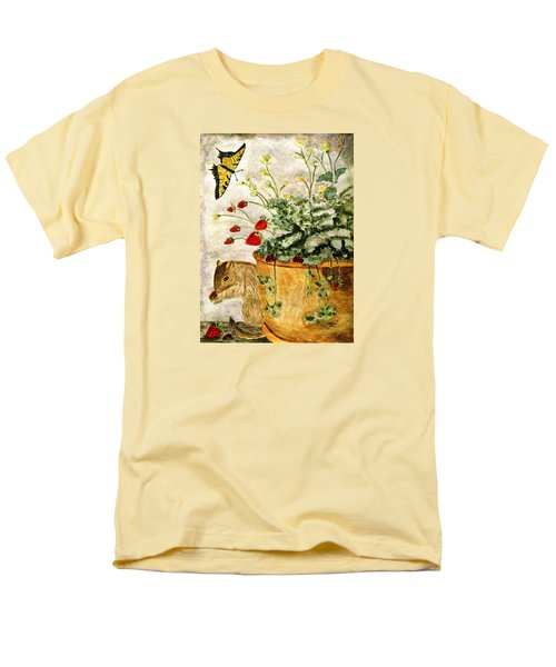 Men's T-Shirt  (Regular Fit) featuring the painting The Discovery by Angela Davies