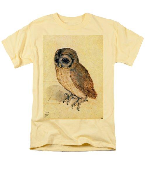 The Little Owl Men's T-Shirt  (Regular Fit) by Albrecht Durer