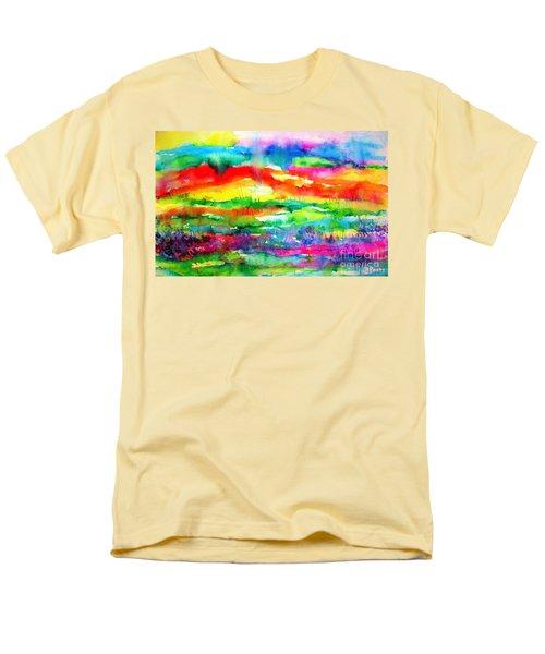 The Living Desert Men's T-Shirt  (Regular Fit) by Hazel Holland