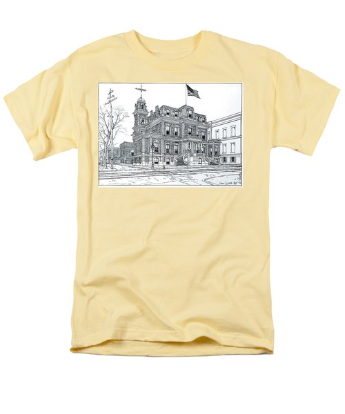 The Union League Philadelphia 1867 Men's T-Shirt  (Regular Fit) by Ira Shander