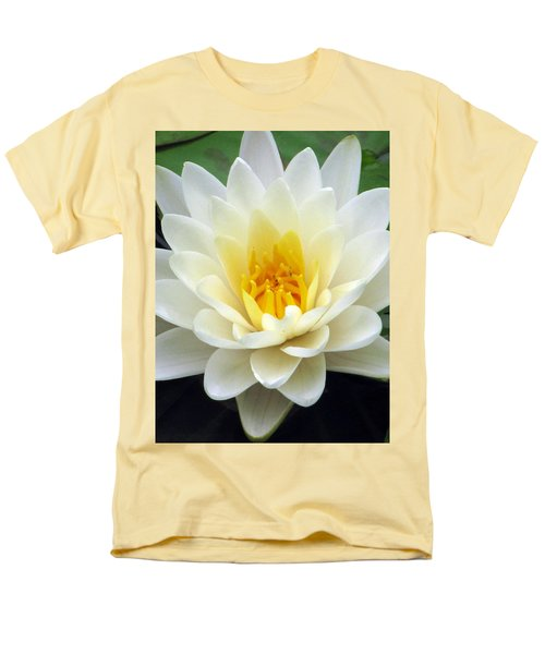 Men's T-Shirt  (Regular Fit) featuring the photograph The Water Lilies Collection - 03 by Pamela Critchlow