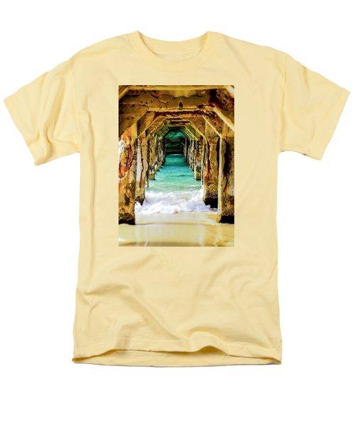 Tranquility Below Men's T-Shirt  (Regular Fit) by Karen Wiles