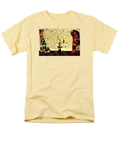 Tree Of Life Men's T-Shirt  (Regular Fit) by Henryk Gorecki