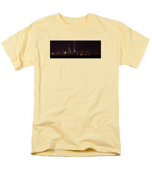 Tribute In Light 9.11 Men's T-Shirt  (Regular Fit) by Kenneth Cole